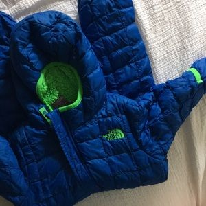 North Face bunting/snow suit